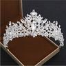 Wedding Bridal Crystal Silver Headband Princess Crown Tiara Hair Accessories New