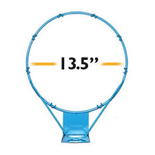 Dunnrite PoolSport Stainless Steel Replacement Basketball Rim - 13.5in