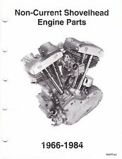 1966-1984 Harley Shovelhead Engine Parts Manual Catalog 1208 1340 FLH FX 7-84