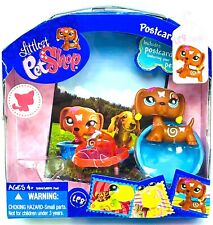 New Hasbro Littlest Pet Shop | Dachshund #1010 | Postcard Pets | Dog | Rare LPS