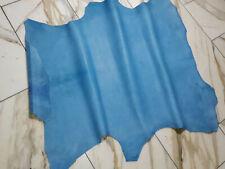 LEDER TIP 35087-FS, Lederreste, 1 Lederhaut, himmelblau nappa