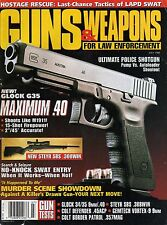 Guns & Weapons For Law Enforcement Magazine Back Issues (Pick From List) Used