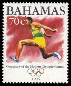 """BAHAMAS 873 - Atlanta Olympic Games """"Triple Jump"""" (pb10348)"""