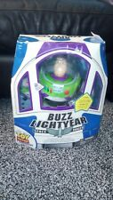"""Toy Story Collection 12"""" Buzz Lightyear Space Ranger ThinkWay Toys Spaceship Box"""