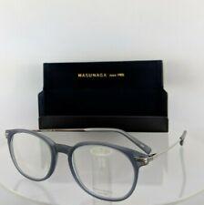Brand New Authentic Masunaga Eyeglasses Gms - 811 #34 48Mm Grey & Silver 811U