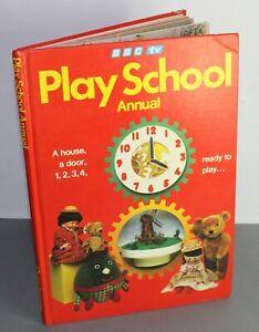 Vintage Play School 1981 Annual (BBC TV)