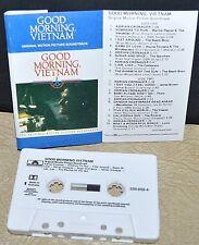 GOOD MORNING VIETNAM     - ORIGINAL MOVIE SOUNDTRACK -            Cassette Tape
