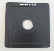 Toyo-View 5x4 Lens Panel - 35mm Hole Cut