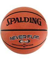 Spalding NBA Neverflat Durable Rubber Nitroflate Ventilation Outdoor Basketball