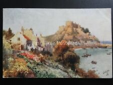 JERSEY Mount Orgueil Castle - Artist B. Wimbush c1906 by Raphael Tuck 7319