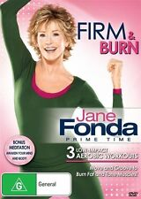 Jane Fonda Prime Time - Firm & Burn (DVD, 2014)