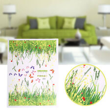 Grass Flower Wall Sticker Removable Home Stickers Nursery Decal Decoration