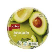 Coles Avocado Dip 200g