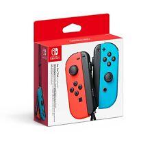 Official Nintendo Joy-Con Pair - Neon Red/Neon Blue (Nintendo Switch)