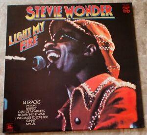 Stevie Wonder Light My Fire 1979 LP Vinyl NM Very Nice Original UK MFP 50420