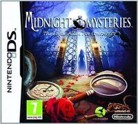 Midnight Mysteries: The Edgar Allen Poe Conspiracy (Nintendo DS, 2011)