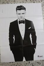 Paul Wesley Justin Timberlake Rare Original Huge Poster Israel 80cm X 60cm Used