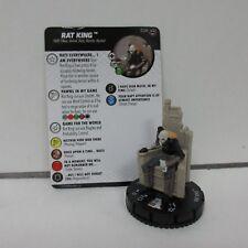 TMNT HeroClix Rat King 024 Rare Figure w/ Card C03