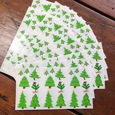 20 sheets Mrs. Grossmans Tiny Christmas Trees Stickers Decorate Tree Holiday