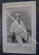 RARE Original Famous Cricketers, #009 F.Marchant, Kent, Cricket 1895
