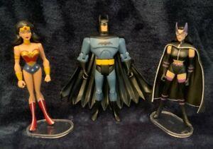 DC Justice League JLU Loose Huntress Armored Wonder Woman Variant Batman Lot