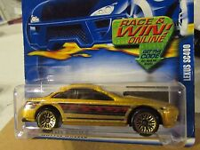Hot Wheels Lexus SC400 #163 Gold
