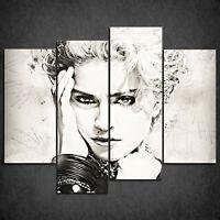 Madonna Music Iconic Celebrities SINGLE CANVAS WALL ART Picture Print VA