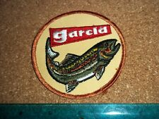 VINTAGE GARCIA FISHING TACKLE PATCH old lures rods reels antique abu mitchell