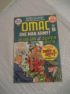 OMAC vol 1 #2 fine condition 1974 a dc comic book