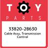 33820-2B630 Toyota Cable assy, transmission control 338202B630, New Genuine OEM