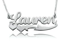 Sterling silver 925 Personalized name necklace, silver name neckalce neckless