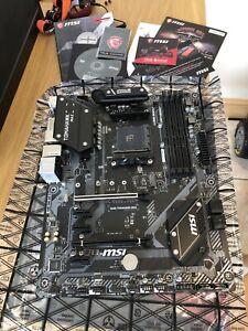 MSI B450 Tomahawk Max Motherboard ATX AM4
