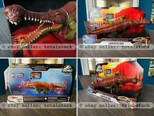 NEW IN HAND!! SARCOSUCHUS Jurassic World Park Massive Biters PRIMAL ATTACK