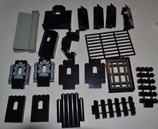 Lego Castle Pieces Lot Black Wall Vintage Panel Stairs Gate Spiral Big ACYF