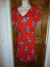 New Look V-Neck Short Sleeve Plus Size Dresses for Women