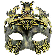 ROMAN Gladiator | FILIGREE Venetian MENS MASQUERADE Mask | Fancy Dress PROM BALL