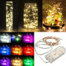 2/3/5M String Fairy Light 10 LED Battery Operated Xmas Lights Party Wedding Lamp