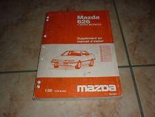 MAZDA 626 GD 4X4 SUPPLEMENT au manuel d'atelier année 01 - 1990 en français