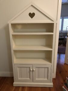 solid timber bookcase