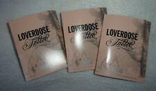 Loverdose Tattoo Diesel EDP 3 x 1,5ml (lotto) sample campione echantillons donna