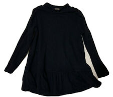 Old Navy Girls Black Long Sleeve Turtleneck 2T