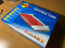 AVM Fritz!Box 7390 Internet Router WiFi and C3 VoIP Wireless phone w/ Dock
