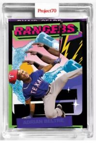 Topps Project70® Card 173 - 1975 Adrian Beltre Pose Texas Rangers Project 70 10
