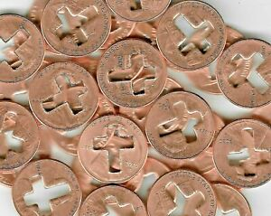 2020 Cross Good Luck Charm Love Holy Penny Collection US USA Coin God Trust Cent