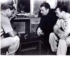 Rare Still Forbidden Planet Off Camera Cast Playing Checkers