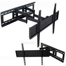 "LED LCD Plasma TV Wall Mount Bracket 39 42 47 50 55 60 65"" Tilt Articulating C08"