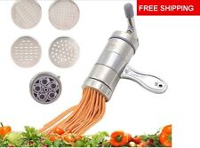 kitchen aid pasta roller with a 5 piece  not 3 pieces Cutter  Attachment New