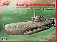 ICM,U-Boot XXVIIB,Seehund,Kriegsmarine ,WW II,Bausatz 1:72 ,S.006,NEU