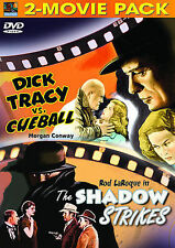 Dick Tracy Vs. Cueball & The Shadow Strikes - Conway - Laroque - Dvd - New