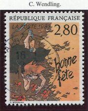 STAMP / TIMBRE FRANCE OBLITERE N° 2836 BD BONNE FETE
